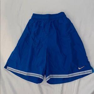 NIKE retro blue shorts